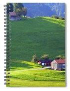 Swiss Farm House Spiral Notebook
