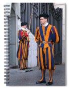Swiss Guard Spiral Notebook