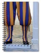 Swiss Guards. Vatican Spiral Notebook
