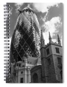 Swiss Re Tower In London Spiral Notebook