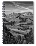 Swiss Valley Bw Spiral Notebook