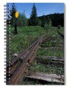 Switch At Pierce Spiral Notebook