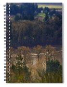 Swollen River Spiral Notebook