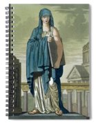 Sybil, Illustration From Lantique Rome Spiral Notebook
