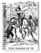 Sybil Ludington, 1776 Spiral Notebook