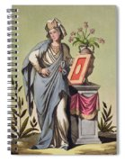 Sybil Of Cumae, No. 16 From Antique Spiral Notebook