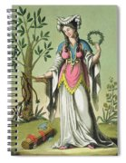 Sybil Of Delphi, No. 15 From Antique Spiral Notebook