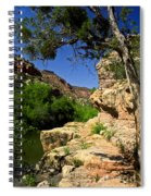 Sycamore Canyon Spiral Notebook