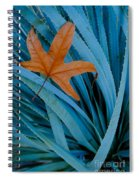 Sycamore Leaf And Sotol Plant Spiral Notebook