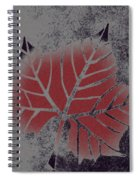 Sycamore Leaf Spiral Notebook