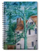 Sycamore Tree Lllustration Spiral Notebook