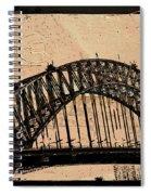 Sydney Harbor Bridge Spiral Notebook