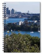 Sydney Harbour Spiral Notebook