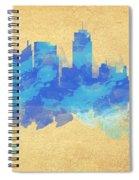 Sydney In Blue Spiral Notebook