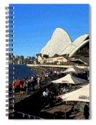 Sydney Opera House Bar Spiral Notebook
