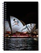 Sydney Opera House  Iv Spiral Notebook