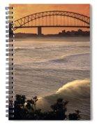 Sydney Surf Time Spiral Notebook