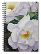 Sydneys Rose Oil Painting Spiral Notebook