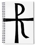 Symbol Christ Spiral Notebook