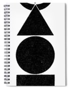 Symbol Four Elements Spiral Notebook