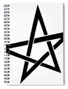 Symbol Pentacle Spiral Notebook