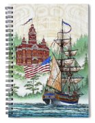 Symbols Of Our Heritage Spiral Notebook