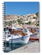 Symi Island Greece Spiral Notebook