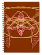 Symmetry Art 2 Spiral Notebook
