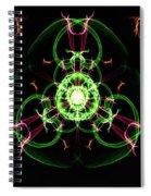 Symmetry Art 5 Spiral Notebook
