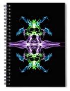 Symmetry Art 7 Spiral Notebook