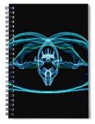 Symmetry Art Spiral Notebook