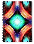 Symmetry Of Colors Spiral Notebook