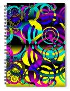 Synchronicity 2 Spiral Notebook