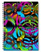 Synchronicity 3 Spiral Notebook