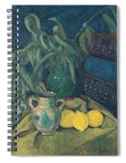 Synchrony In Green Spiral Notebook