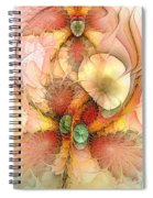 Syncopated Summer Passion Spiral Notebook
