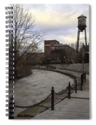 Syracuse Creekwalk Spiral Notebook