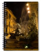 Syracuse - Diana Fountain  Spiral Notebook