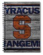 Syracuse Orangemen Spiral Notebook