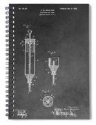 Syringe Patent Spiral Notebook