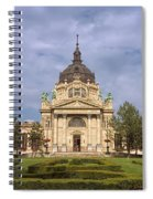 Szechenyi Baths Budapest Hungary Spiral Notebook