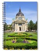 Szechenyi Baths In Budapest Spiral Notebook
