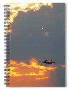 T-28 Trojan Fighter Plane Spiral Notebook