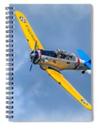 T-6 Texan Flying Spiral Notebook