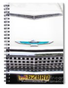 T-bird Hood Spiral Notebook