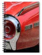 T-bird Tail Spiral Notebook