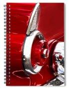 T-bird Tail Light Spiral Notebook