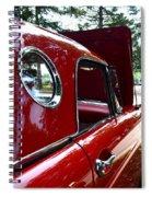 Vintage Car - Opera Window T-bird - Luther Fine Art Spiral Notebook