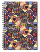 T J O D Tile Variations 10 Spiral Notebook