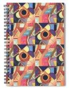 T J O D Tile Variations 19 Spiral Notebook